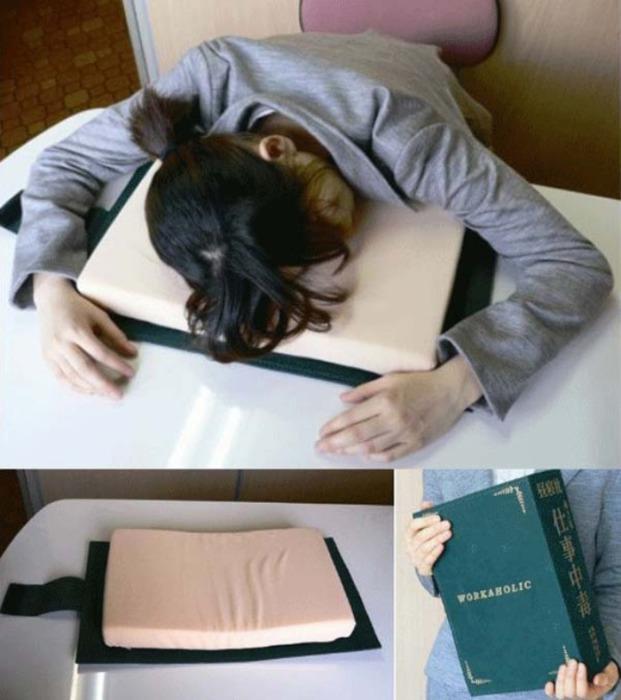 Подушка для изнуренных студентов.
