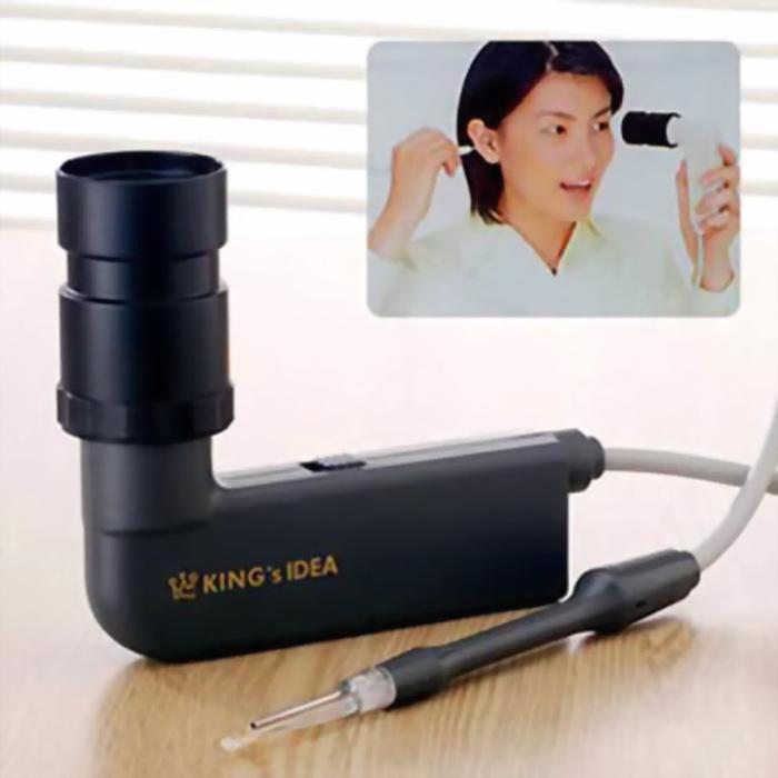 Прибор, который поможет рассмотреть свое ухо изнутри.