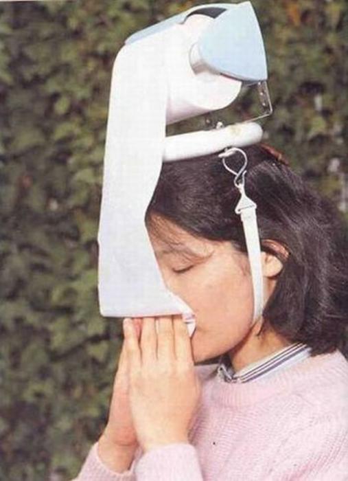 Портативная туалетная бумага.