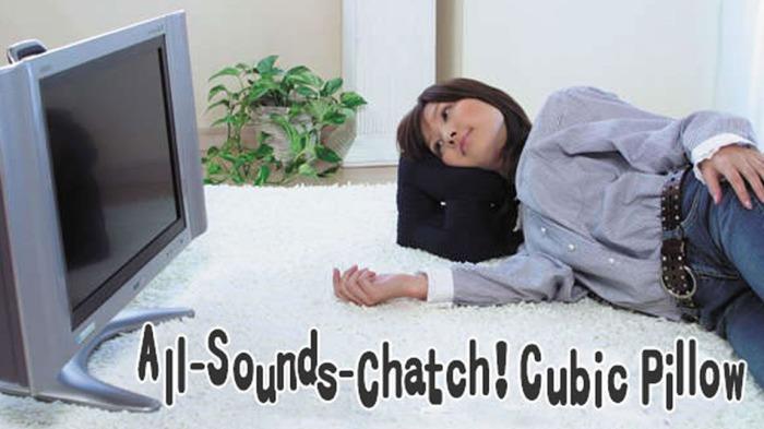 Подушка, которая не даст вам пропустить ни одного звука, пока вы лежите на ней.