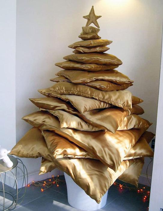 «Мягкая» новогодняя елка.