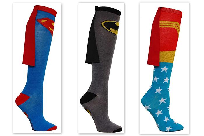 Носки для настоящих супергероев.