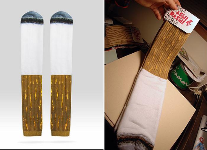Выкурить такие носки никак не получится.