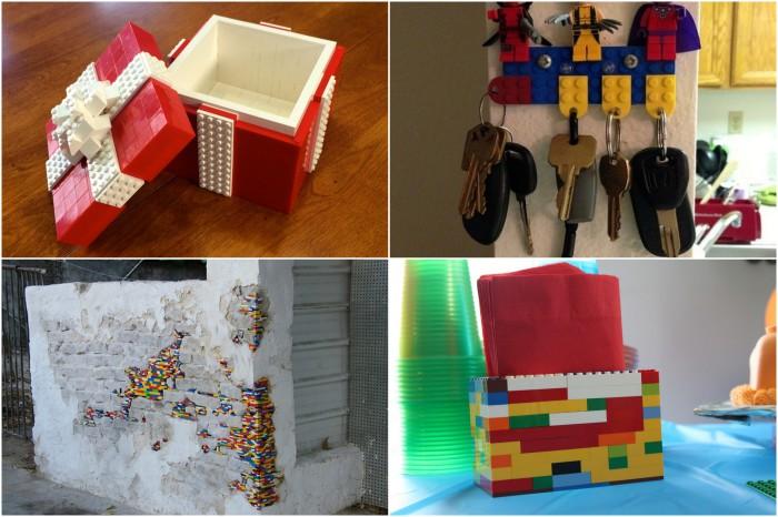 Способы оригинального использования Лего.
