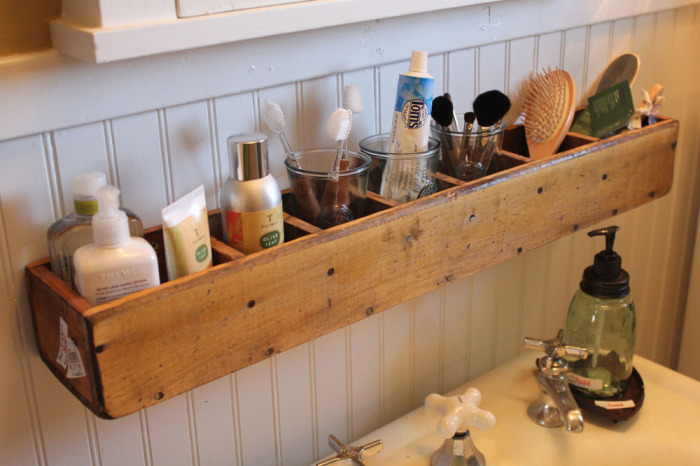 Bathroom organizer ideas