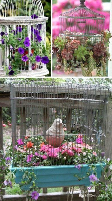 Элегантное и стильное кашпо для сада.