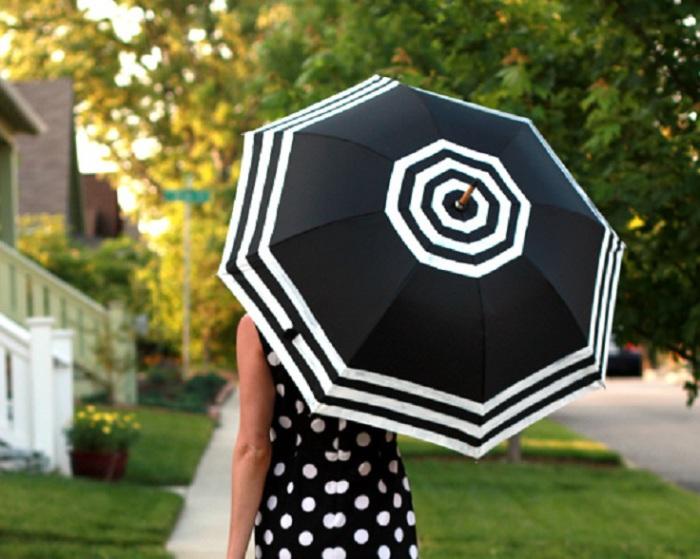 Интересный зонтик.