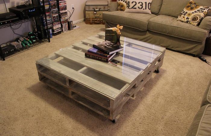 Удобный кофейный столик принесет немного уюта в любой дом.