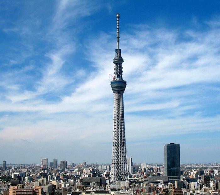 Самая высокая башня в мире, длина которой становит около 660 метров.