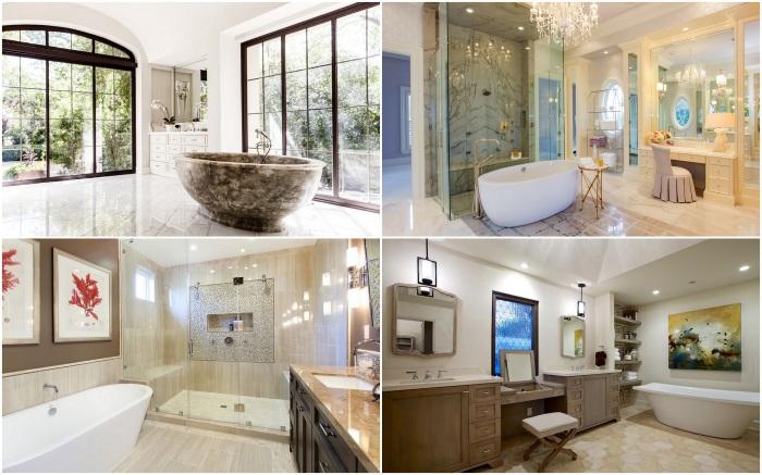 Подборка роскошных и элегантных ванных.