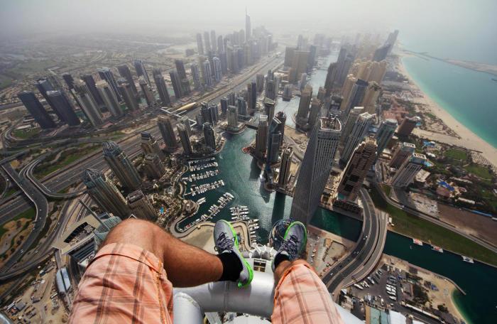 Великолепный вид на Дубаи.