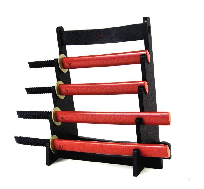Подставка для ножей отважных самураев.