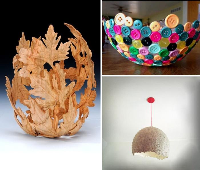 Идеи использования формы воздушного шара при создании великолепных предметов быта.