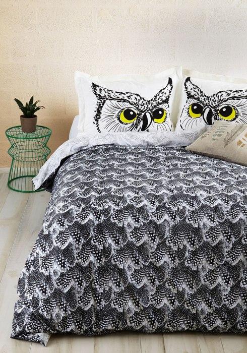 Кровать для настоящих сов, которые спят весь день.