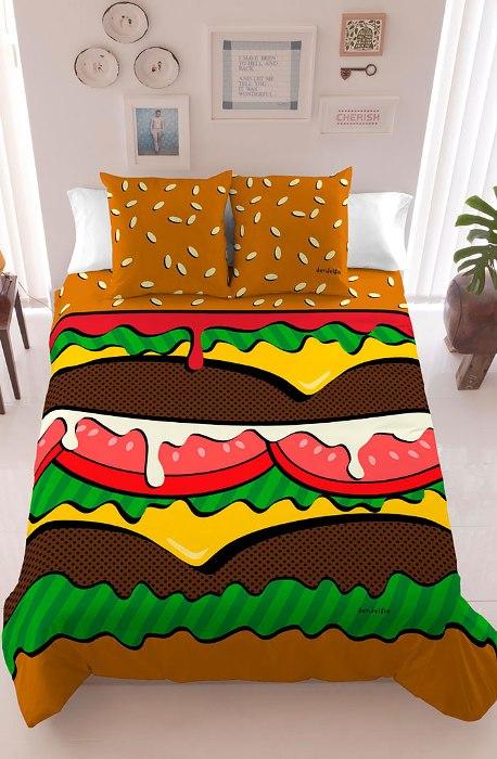 Для тех, кто любит перекусить в постели.