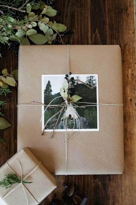 Использование фотографии способно сделать упаковку адресной.