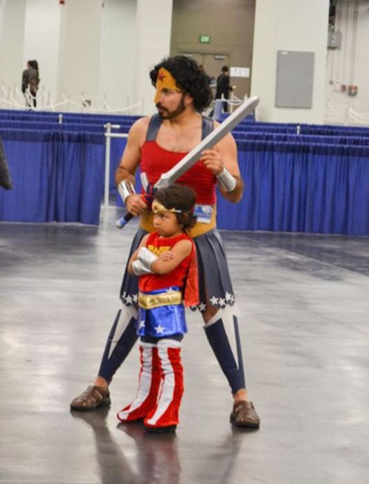 Как стать настоящим супергероем для своей дочери!