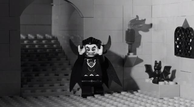 Фигурка LEGO в роли Белы Лугоши.