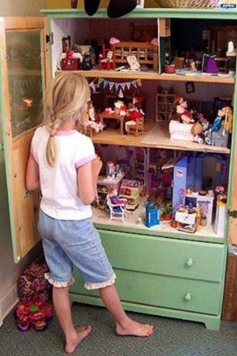 Кукольный дом, от которого будет в восторге каждый ребенок.