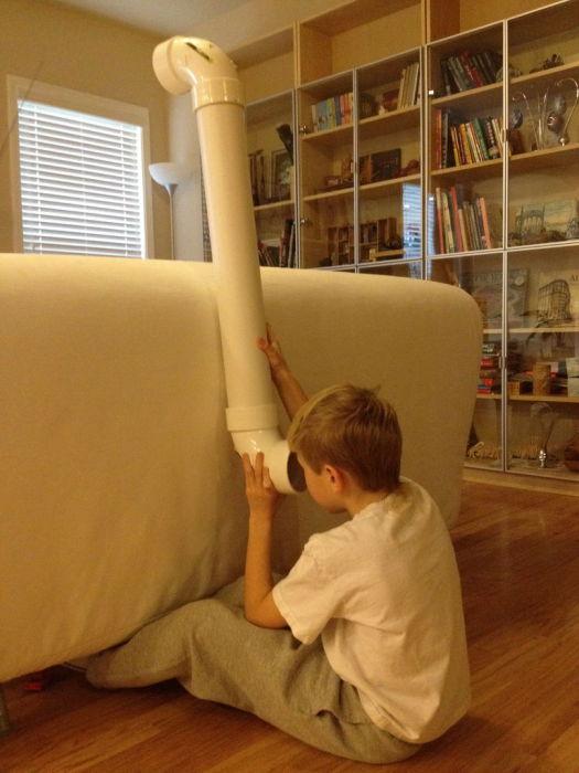 Перископ позволит вашим детям почувствовать себя настоящими подводниками.