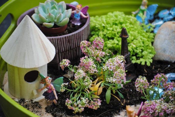 Чем больше красивых разноцветных растений в саду, тем выше возможность того, что феи обязательно поселятся в нем.