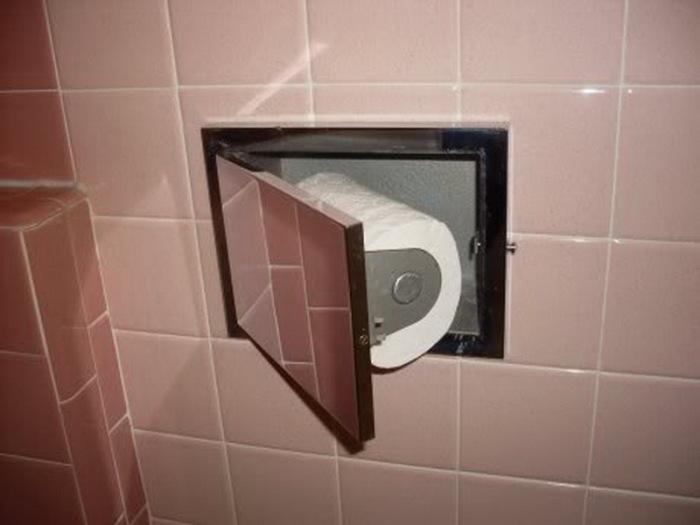 Держатель для бумаги для тех, кто любит держать все вещи в безопасности.