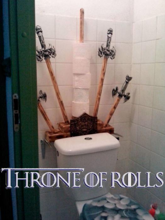 Необычная ассоциация с троном из «Игр престолов».