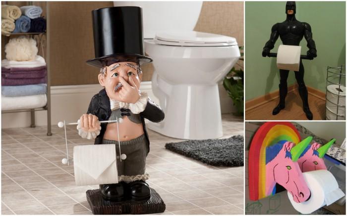 купить фигуру которая держит туалетную бумагу