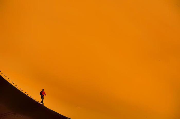 Одиночество в пустыне.