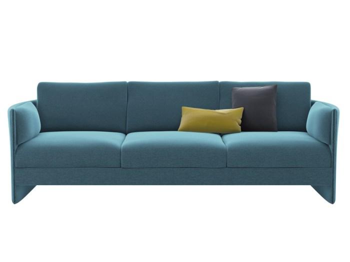 Простота линий и элегантность дизайна придают дивану современный шарм и легкость в эксплуатации.