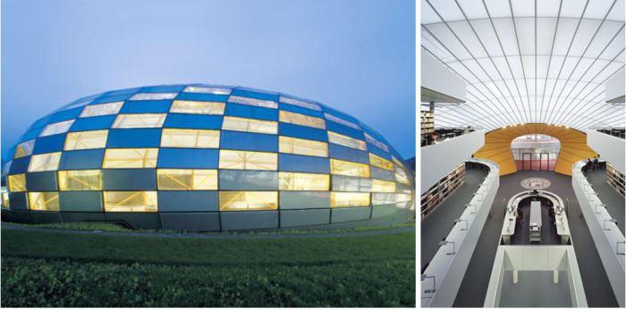 Библиотек в ультрасовременном стиле