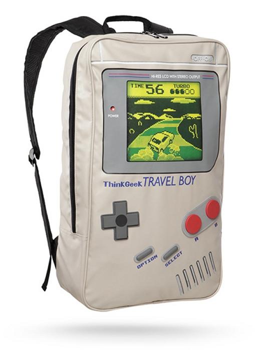 Рюкзак с оригинальным принтом.