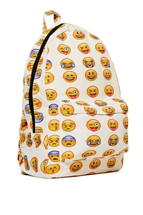 Рюкзаки со смайликами фото рюкзаки доя бжд