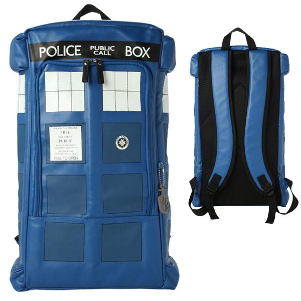 Великолепный рюкзак для фанатов сериала «Доктор кто».
