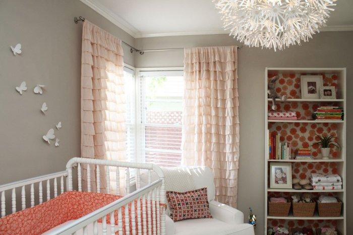 Очаровательные комнаты для маленьких детишек.