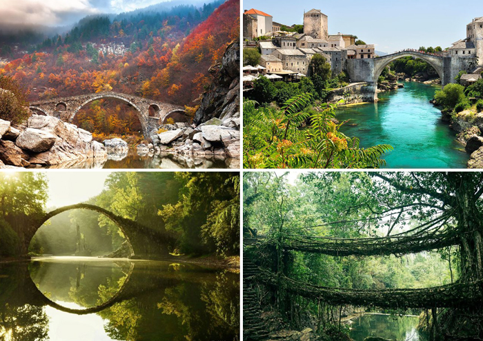 20 старых мостов в сказочный мир.