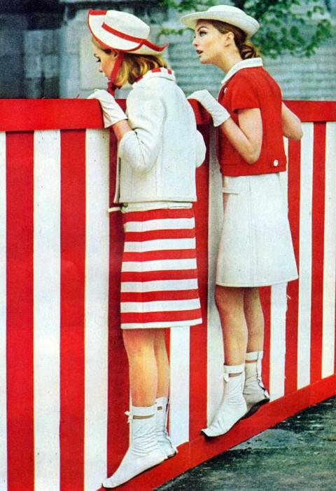 Ботинки от Андре Корраже (Andrе Courrеges), известного французского дизайнера 60-х.