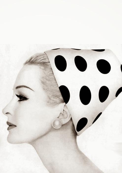 Сара Торн (Sara Thorn) в журнале Vogue, 1959 года
