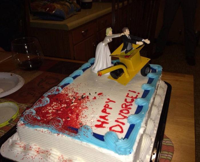 Развод как способ весело провести время.