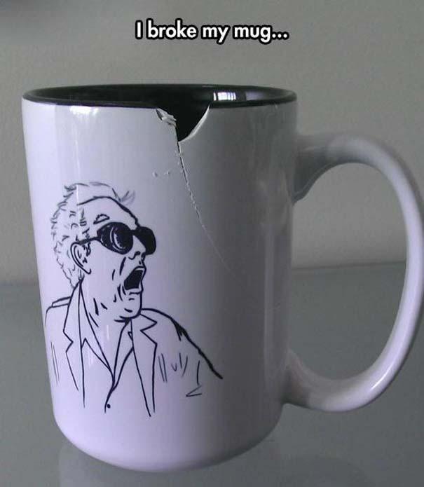 Не каждый придет в восторг, если в его чашке будет трещина.