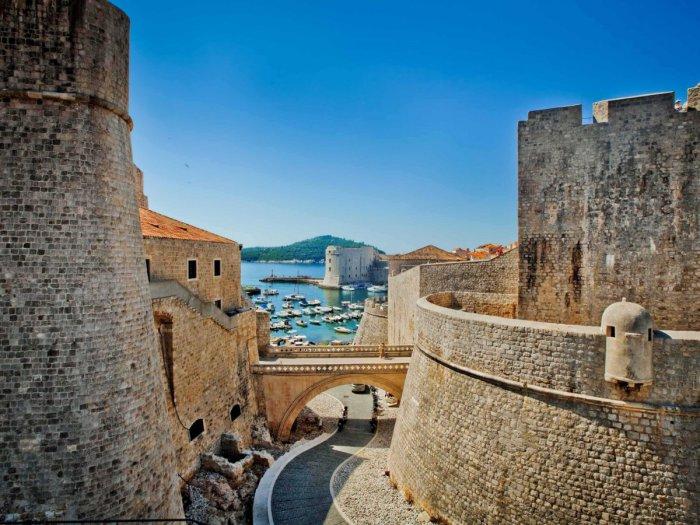 Город Дубровник в Хорватии.