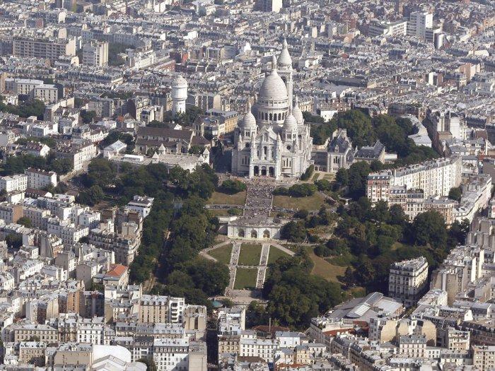 Базилика Сакре-Кер на Монмартре, Париж.