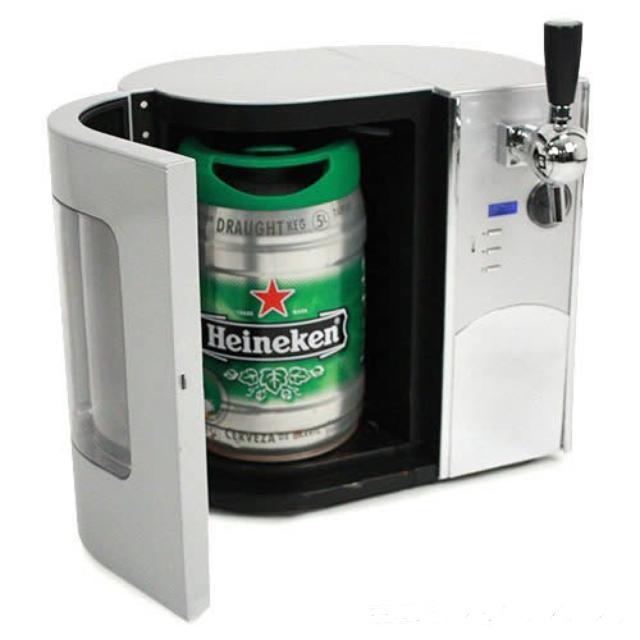 Великолепное устройство для охлаждения и разлива пива.