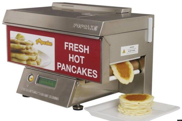 Замечательное устройство, которое испечет оладьи прямо к завтраку.