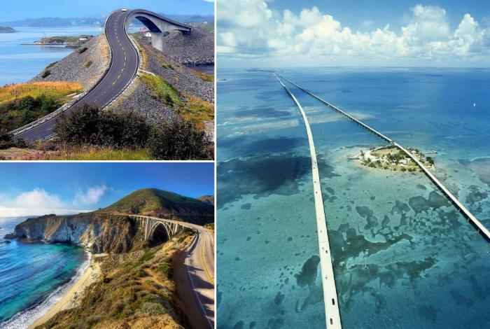Красочные и опасные дороги, по которым захочет прокатиться каждый.
