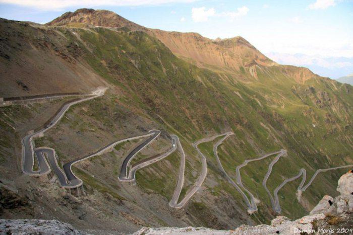 Самое опасное шоссе в мире.