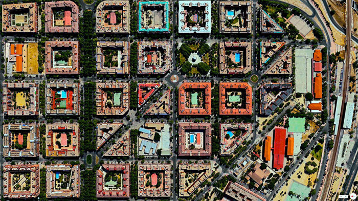Небольшой городок в Испании.
