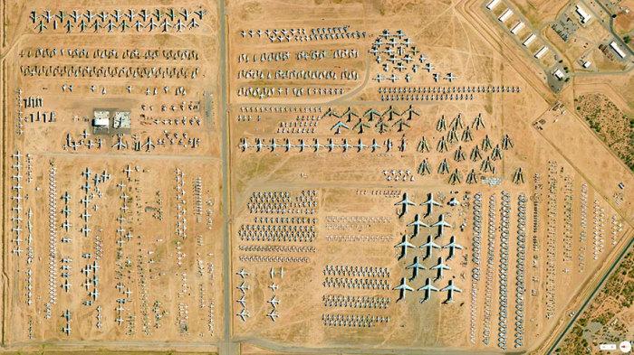 Аэрокосмическое техобслуживание в Аризоне.