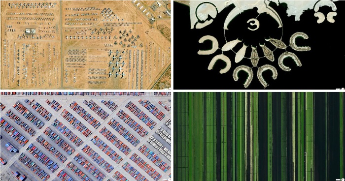 Великолепные снимки со спутника.
