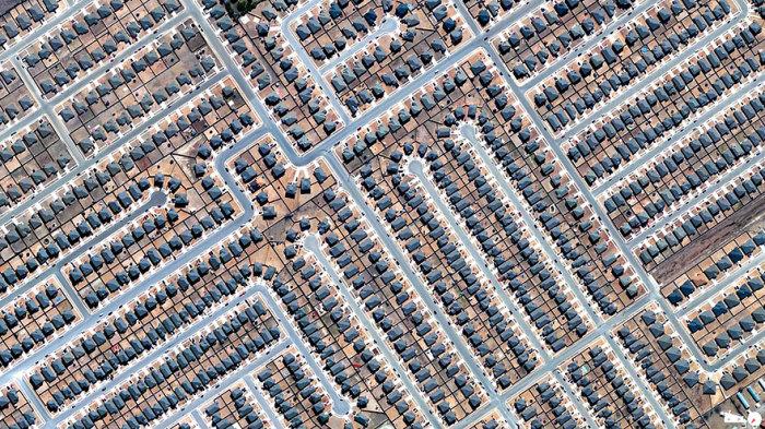 Жилые дома в Техасе.